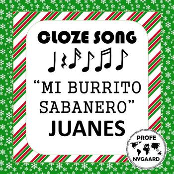 LA NAVIDAD- CLOZE SONG// Burrito Sabanero by Juanes