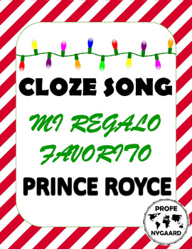 LA NAVIDAD- CLOZE SONG// Regalo Favorito by Prince Royce