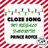 LA NAVIDAD- CLOZE SONG// Regalo Favorito by Prince Royce