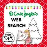 LA NAVIDAD- web search activity for El Corte Inglés
