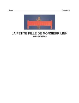 LA PETITE FILLE DE MONSIEUR LING reading guide & activities