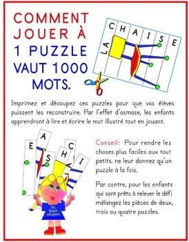 LA RENTRÉE (1 puzzle vaut 1000 mots)