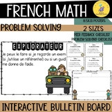 LA RÉSOLUTION  DE  PROBLÈME / French math problem solving bulletin board