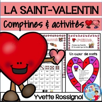 LA SAINT-VALENTIN, L'AMITIÉ (comptines et activités) French Valentine