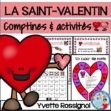 SAINT-VALENTIN, L'AMITIÉ (comptines et activités)  French Valentine's Day