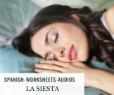 LA SIESTA - Spanish Activity with audios included