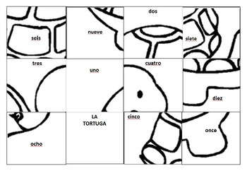 LA TORTUGA- number puzzle