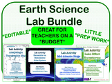 LAB BUNDLE - Earth Science *EDITABLE*