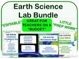 LAB BUNDLE - Earth Science *EDITABLE*