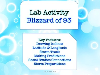 LAB - Blizzard of 1993 PowerPoint