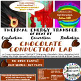 Thermal Energy-HEAT in MOTION-Chocolate CONDUCTION LAB w g