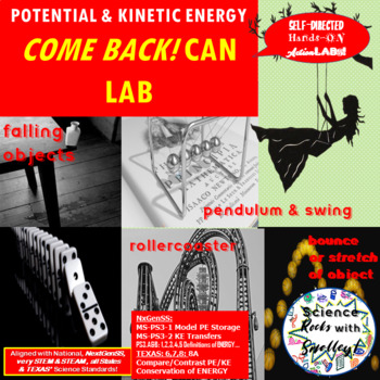 Potential & Kinetic Energy BOOMERANG Canister! LAB