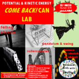 Potential & Kinetic ENERGY-BOOMERANG CANister LAB--STEM BuildIt! LAB