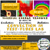 CONVECTION Currents in Test Tubes ActionLAB! for Thermal Energy w/Extras