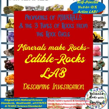 Rock Cycle- Edible Rocks LAB