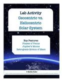 LAB - Geocentric vs. Heliocentric Solar System