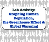 LAB - Graphing Human Population Growth, the Greenhouse Effect & Global Warming