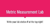 LAB: METRIC SYSTEM & MEASUREMENT