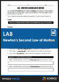 LAB - Newton's Second Law of Motion - Relating Mass, Force