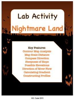 LAB - Nightmare Land Contour Map