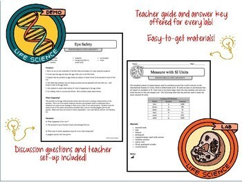 LAB SAFETY AND SCIENCE INQUIRY SKILLS - Demos, Labs and Science Stations