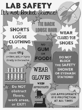 LAB SAFETY POSTER!