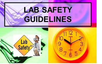 LAB SAFETY RULES VISUAL FUN POWERPOINT