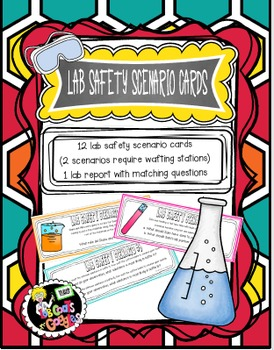 LAB SAFETY SCENARIO CARDS