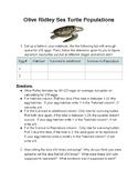 LAB: Sea Turtle Populations