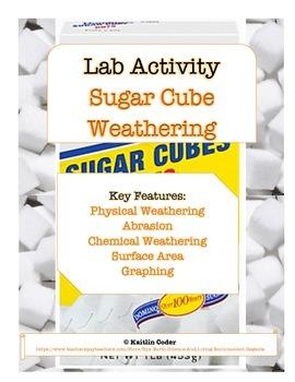 LAB - Sugar Cube Weathering