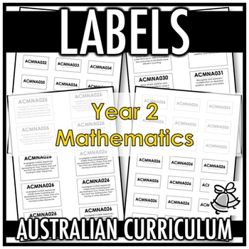 LABELS | AUSTRALIAN CURRICULUM | YEAR 2 MATHEMATICS