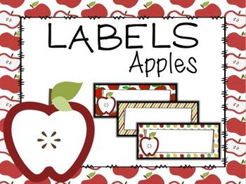 Editable Labels Apple Theme