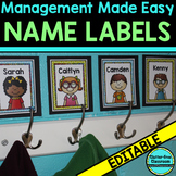 LABELS: Editable Multipurpose Labels for Classroom Organization
