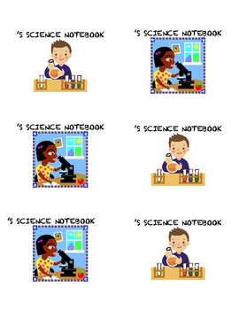 LABELS FOR STUDENT SCIENCE NOTEBOOKS