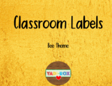 LABELS for Supplies and Bulletin Boards - Bee