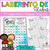 Spanish Syllable Maze   Laberinto de Sílabas