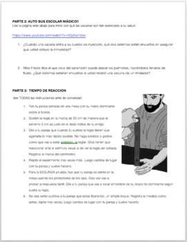 LABORATORIO: INTERACCIONES DE LOS SITEMAS DEL CUERPO