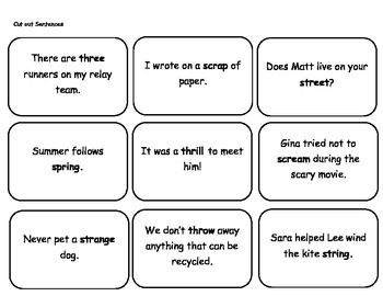 LACC 3.L.1.1 Word Work Daily 5 Parts of Speech Mat Journeys Grade 3 Lesson 7