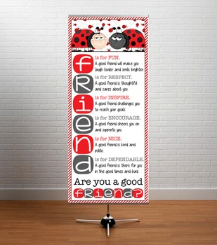 LADY BUGS - Classroom Decor: LARGE BANNER, FRIENDS