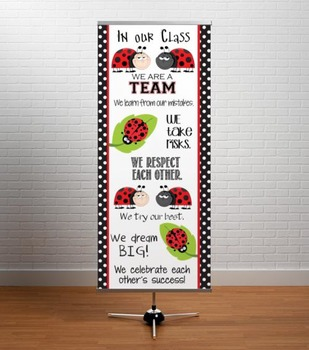LADY BUGS - Classroom Decor: LARGE BANNER, In Our Class