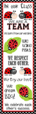 LADY BUGS - Classroom Decor: X-LARGE BANNER, In Our Class...