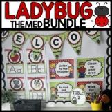 Ladybug Classroom Decor Bundle | Ladybug Classroom Theme