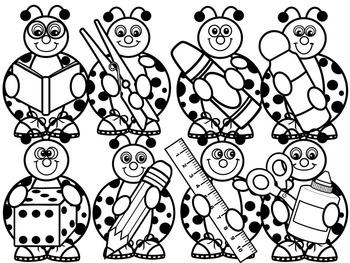 LADYBUG CLIP ART- SCHOOL LADYBUGS CLIP ART- 16 IMAGES- CU
