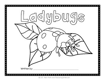 LADYBUGS {Create Your Own Book}