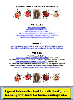 BIOLOGY, LADYBUGS PUBLIC DOMAIN CLIP ART (45 images)