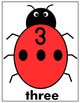 LADYBUGS WITH NUMBERS 0-20