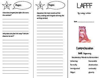 LAFFF Trifold - Treasures 6th Grade Unit 6 Week 2