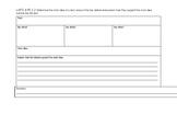 LAFS.4.RI.1.2 Graphic Organizer