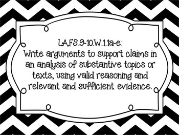 LAFS 9th and 10th Florida Language Arts Standards and Access Points