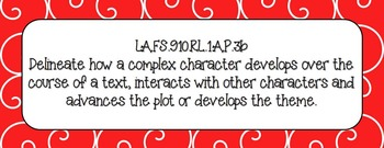 LAFS 9th and 10th Florida Language Arts Standards and Acce